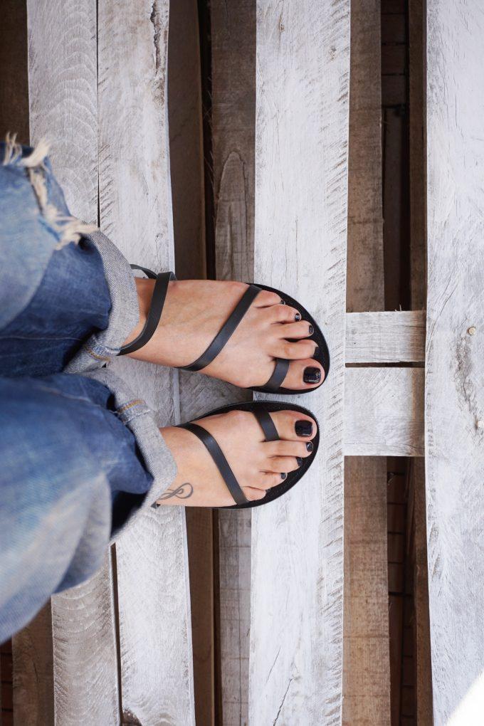 Sandale FUNKY DAY, negru