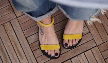 O nouă vară cu sandale faine