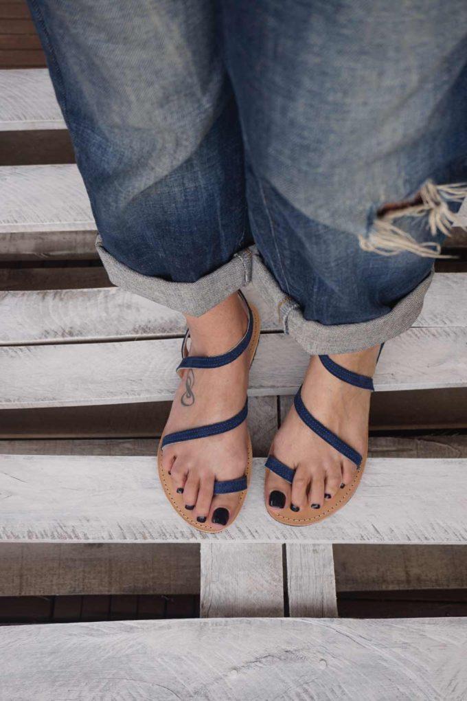 Sandale dama FUNKY DAY, albastru