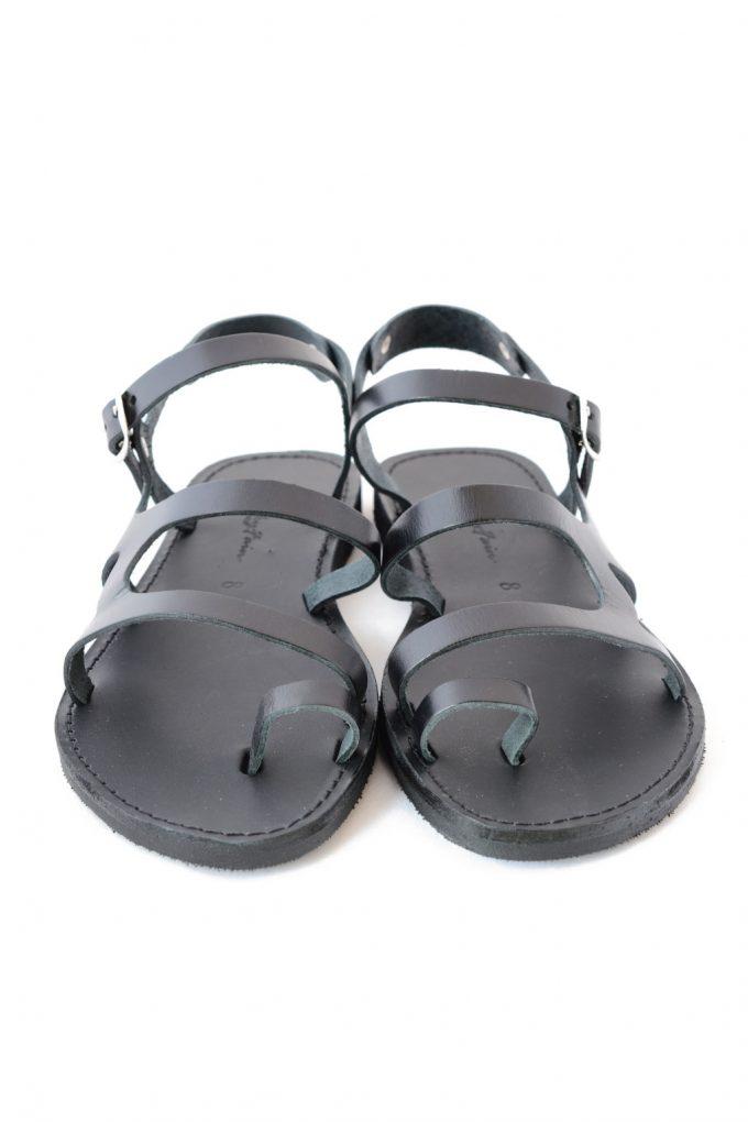 Sandale grecesti FUNKY FRIDAY negru | FUNKYFAIN