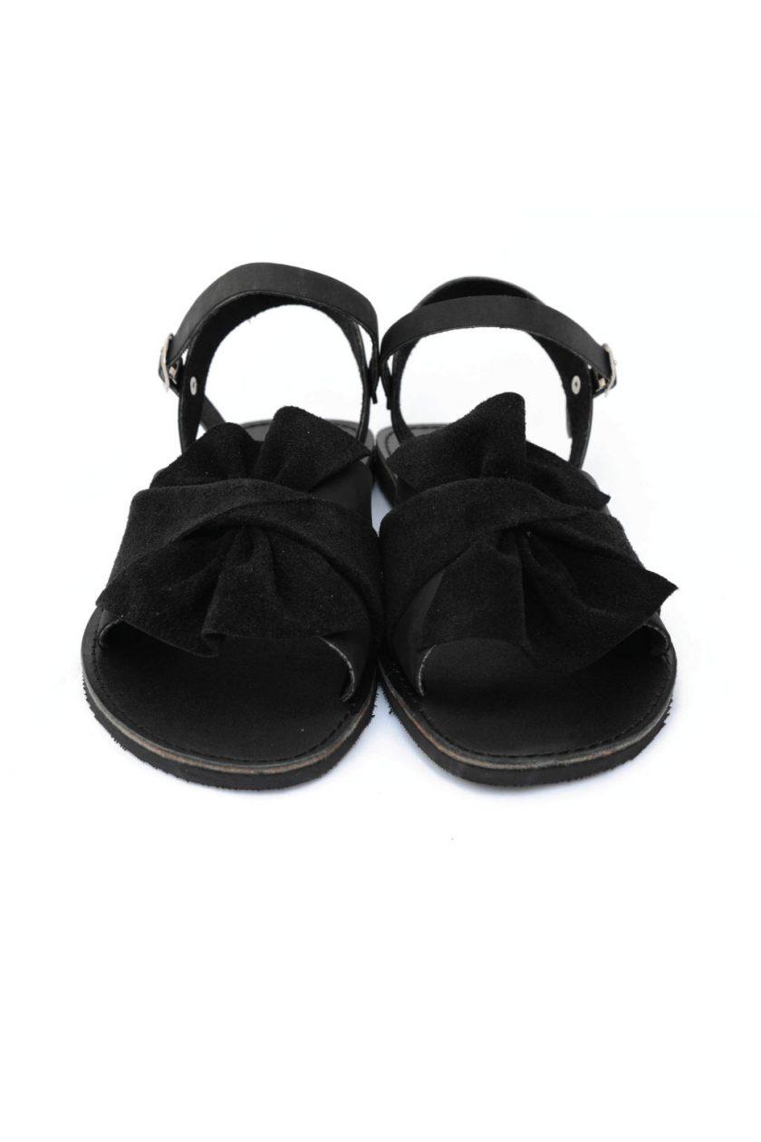 Sandale negre casual cu funda FUNKY B
