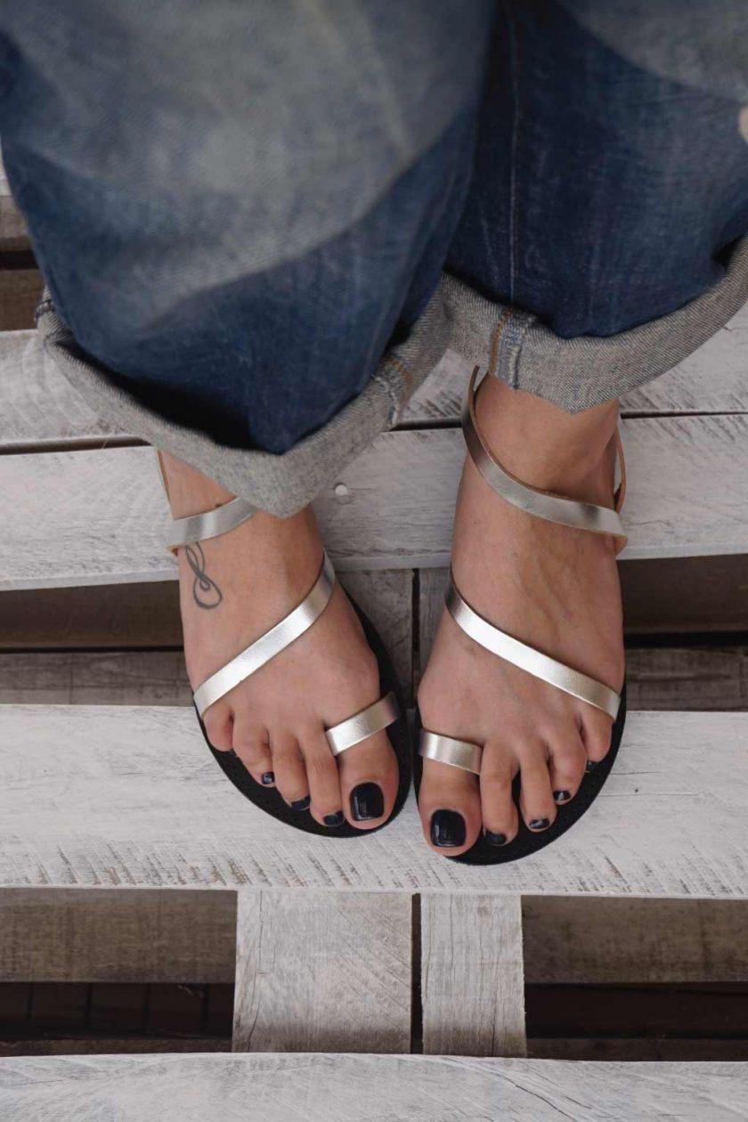 Sandale dama FUNKY DAY, argintiu