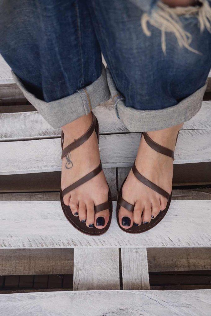 Sandale dama FUNKY DAY, maro