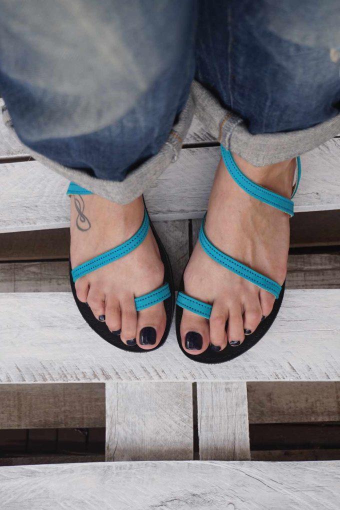 Sandale dama FUNKY DAY, turcoaz