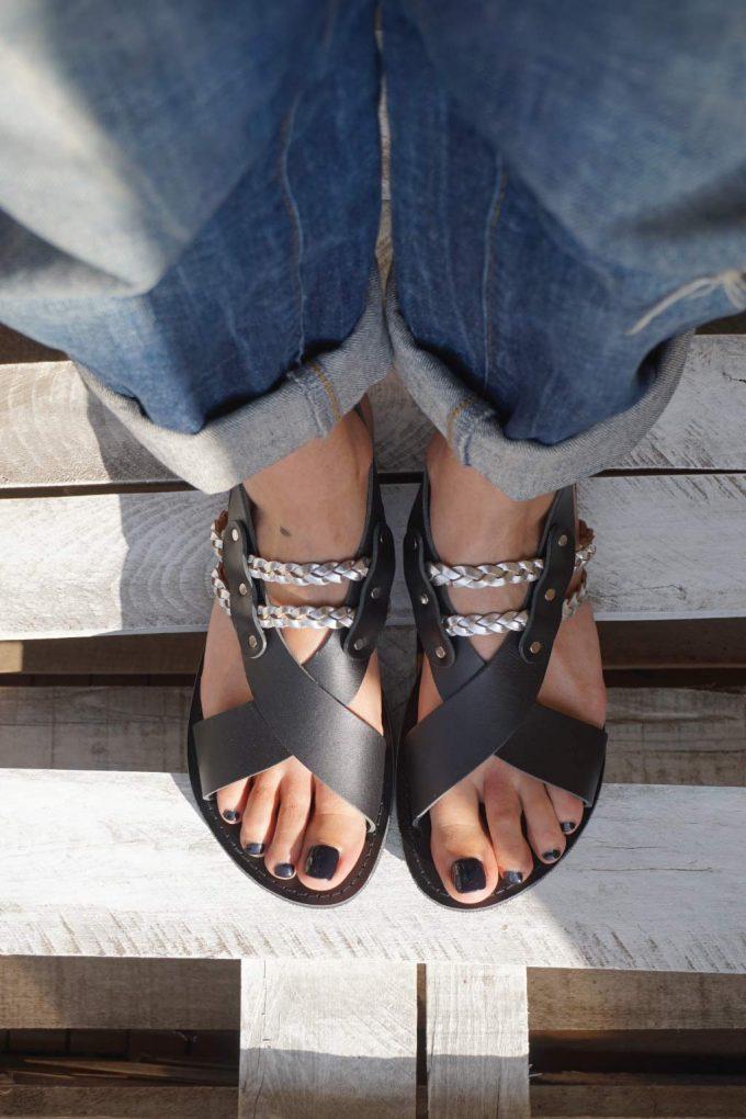 Sandale dama FUNKY STYLE, negru