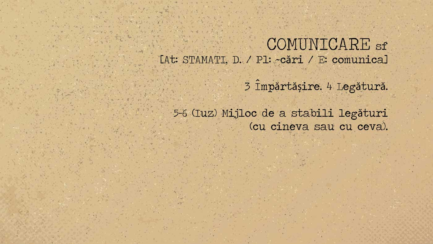 blog FUNKYFAIN | comunicare definitie