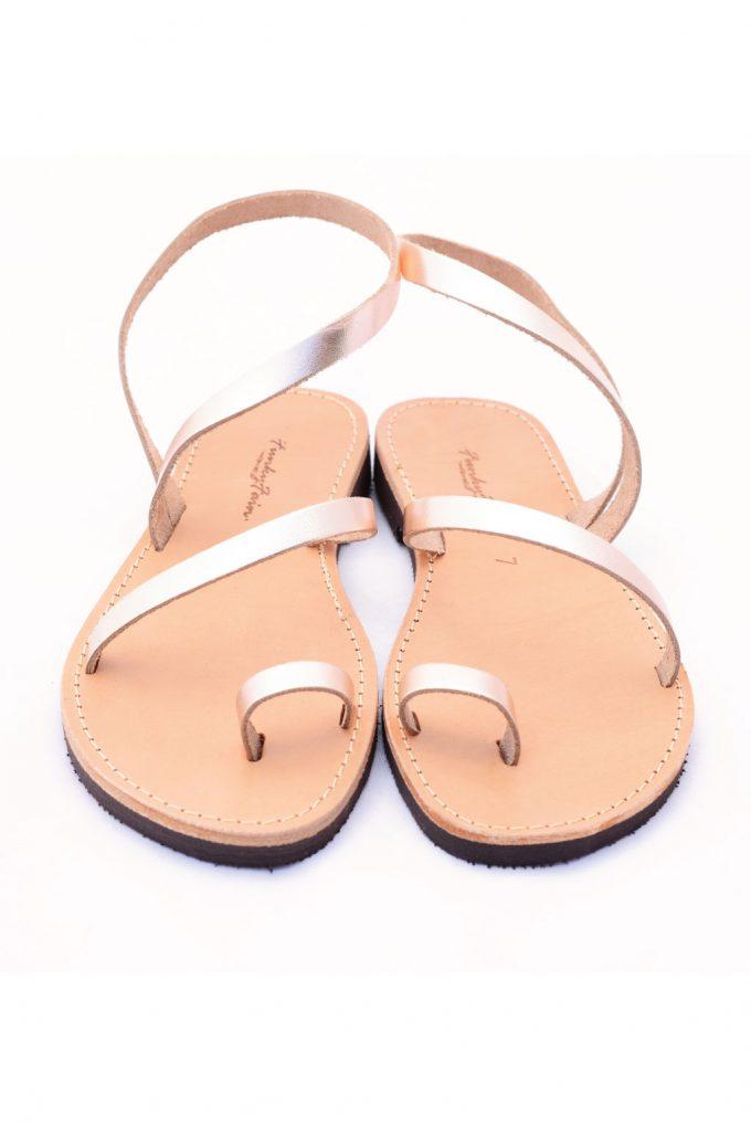Sandale grecesti FUNKY DAY, bronz