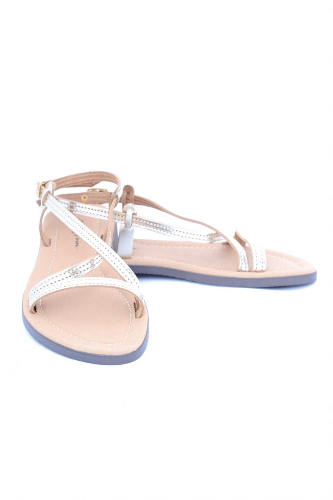 Sandale aurii din piele naturala FUNKY GIRL