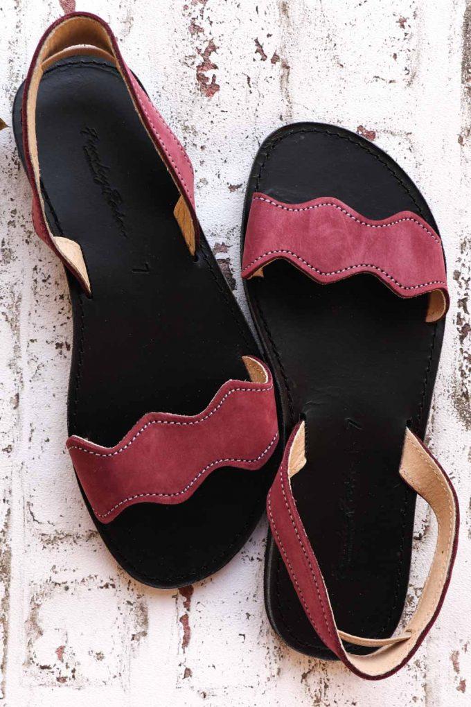 Sandale FUNKY VIBE, vișiniu