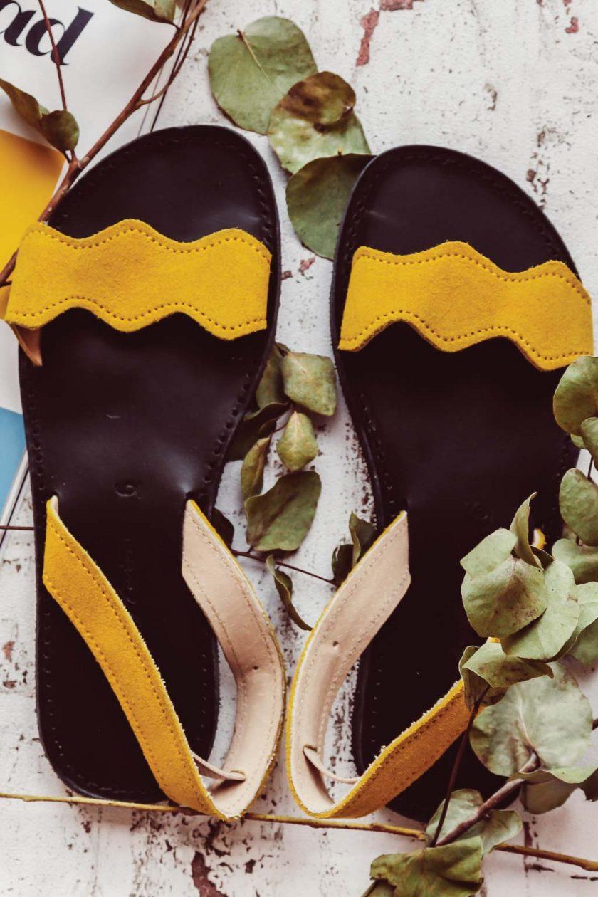 Sandale FUNKY VIBE, galben