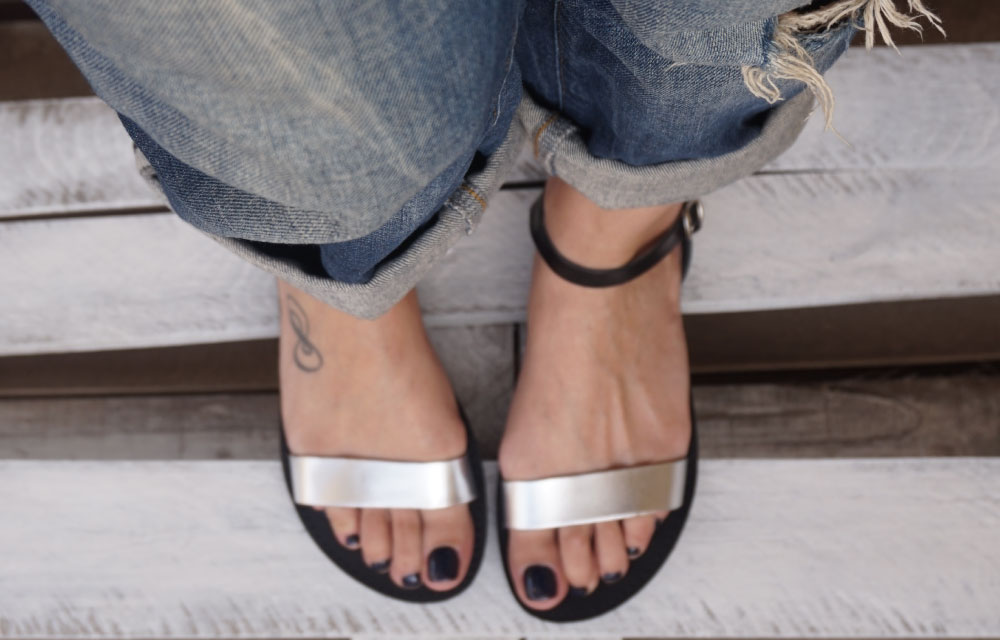 sandale-funky-casual-argintiu