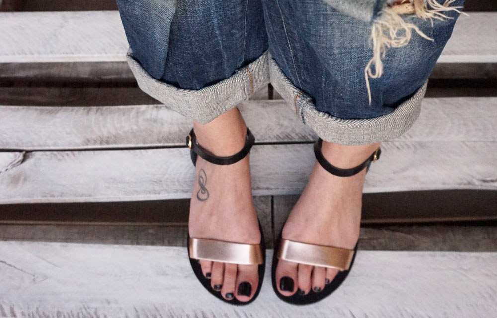sandale-funky-casual-bronz