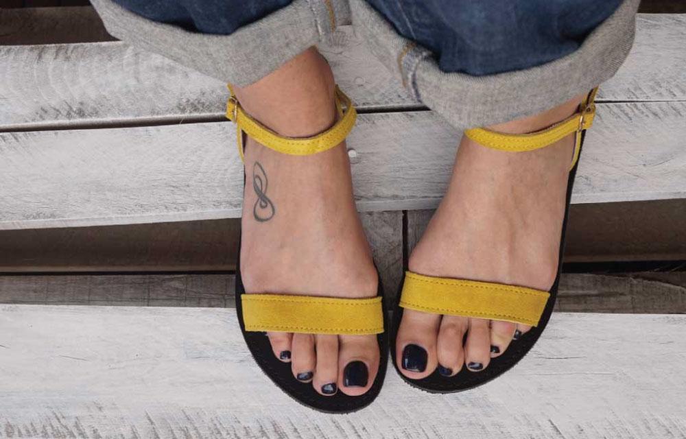 sandale-funky-casual-galben
